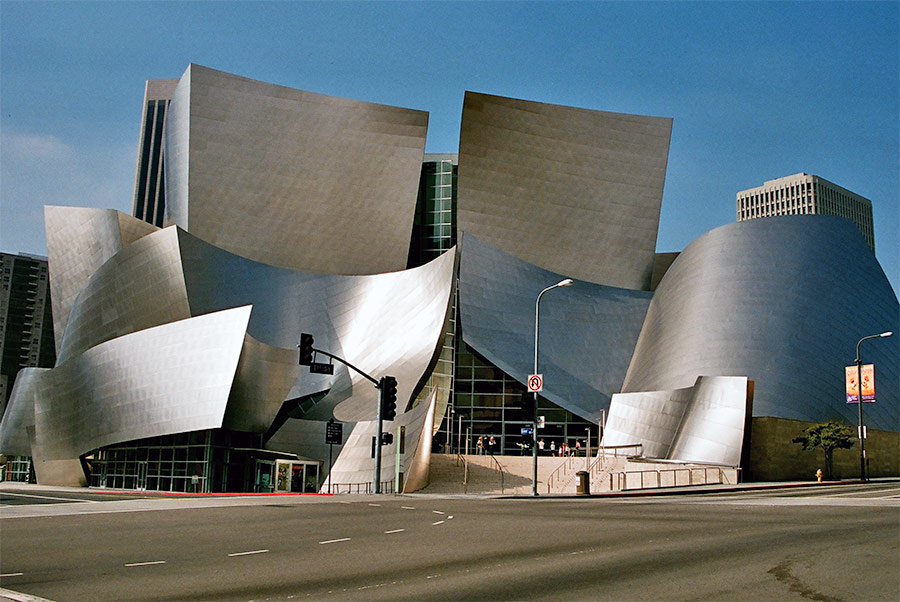 Disney Hall And The Character Of La