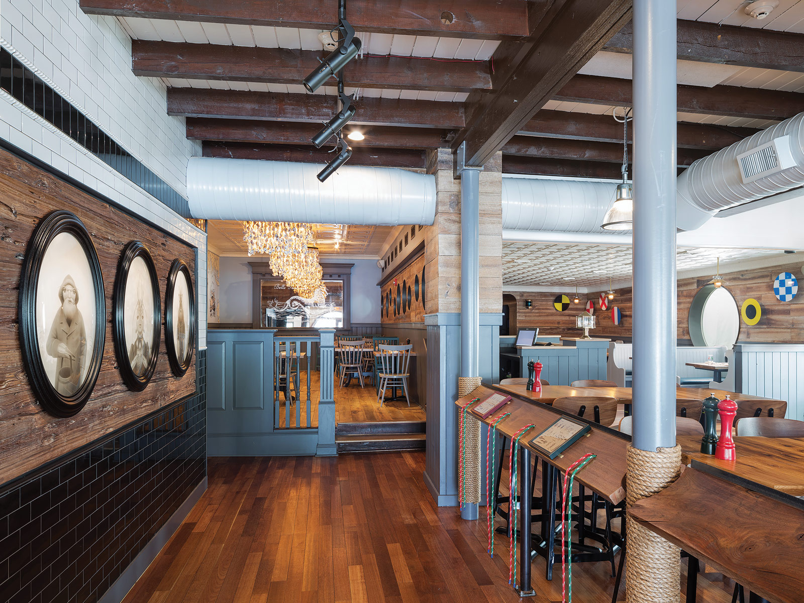 Otto Architects Designs Nautical Themed Dogfish Head Brewhouse