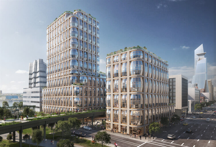 Rendering of Hudson Residences at 515 West 18th Street