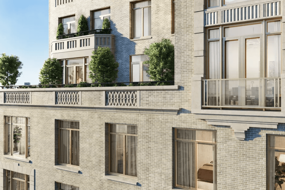 RAMSA's Upper West Side residential building. (Rendering by Williams New York)
