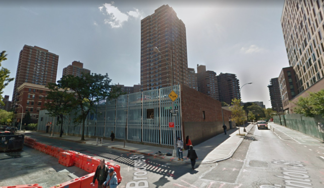 This parking garage at Broome and Clinton streets will be replaced by an affordable housing tower.(Google Earth)