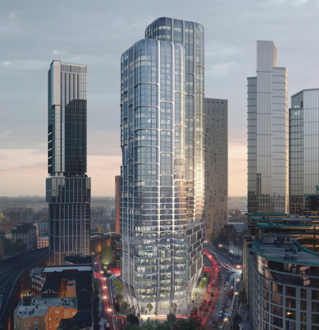Zaha Hadid Architects faces criticism over newly revealed London skyscrapers
