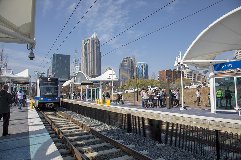 CATS LYNX Blue Line Extension to UNCC (Courtesy of CATS)