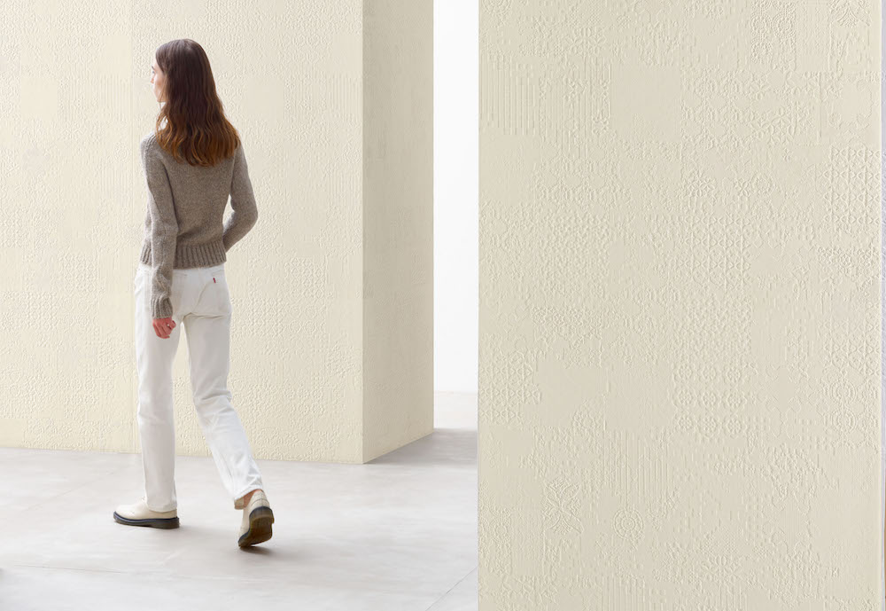 Mutina's oversized concrete collection by Patricia Orquiola, Déchirer XL (Courtesy Mutina).