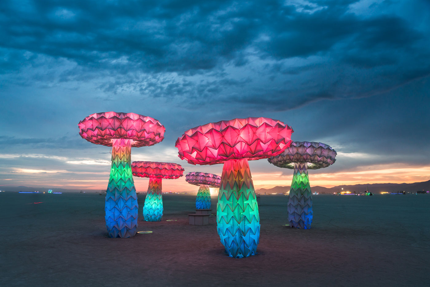 """Shrumen Lumen,"""" a 2016 interactive art installation by FoldHaus will be among the works re-created for No Spectators. (Rene Smith/Renwick Gallery)"""