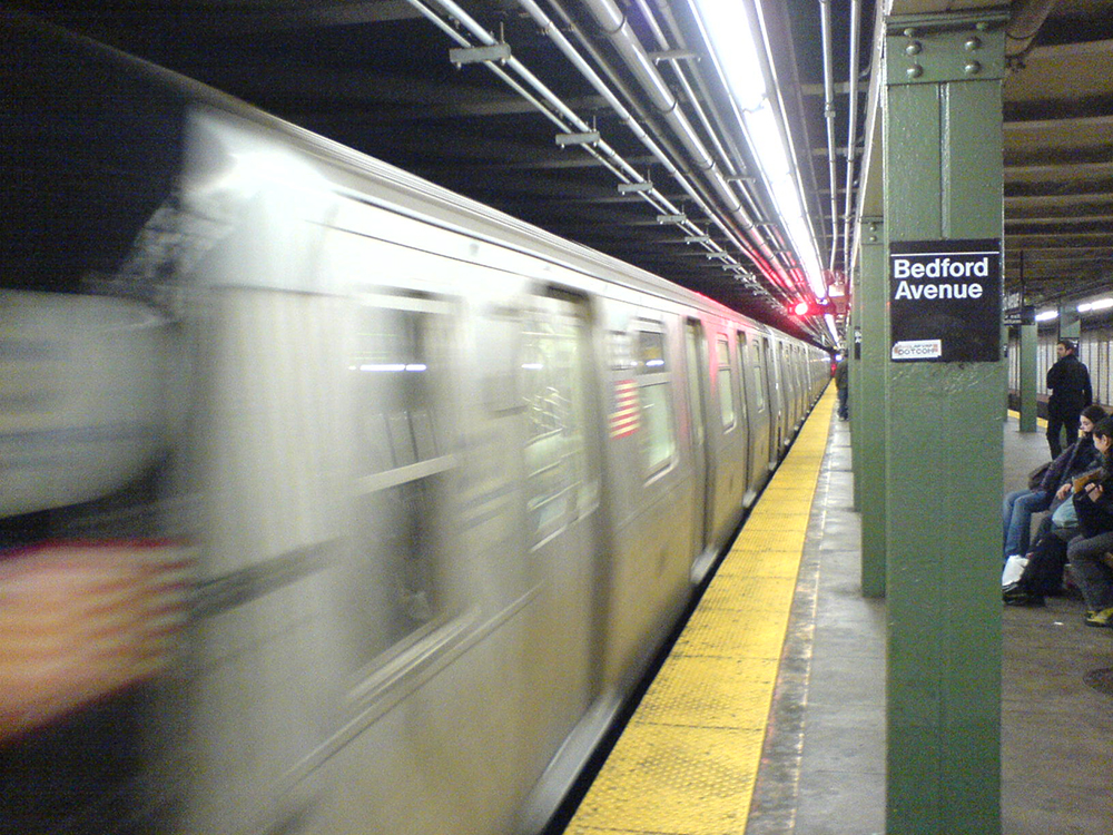 NYT subway train