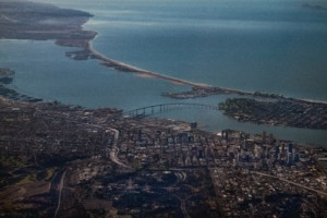 Aerial photo of San Diego