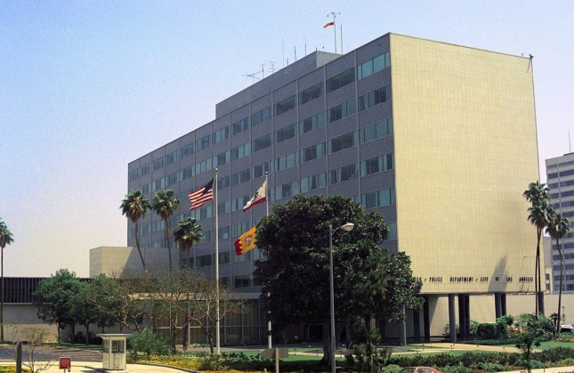 Photo of the former LAPD headquarters