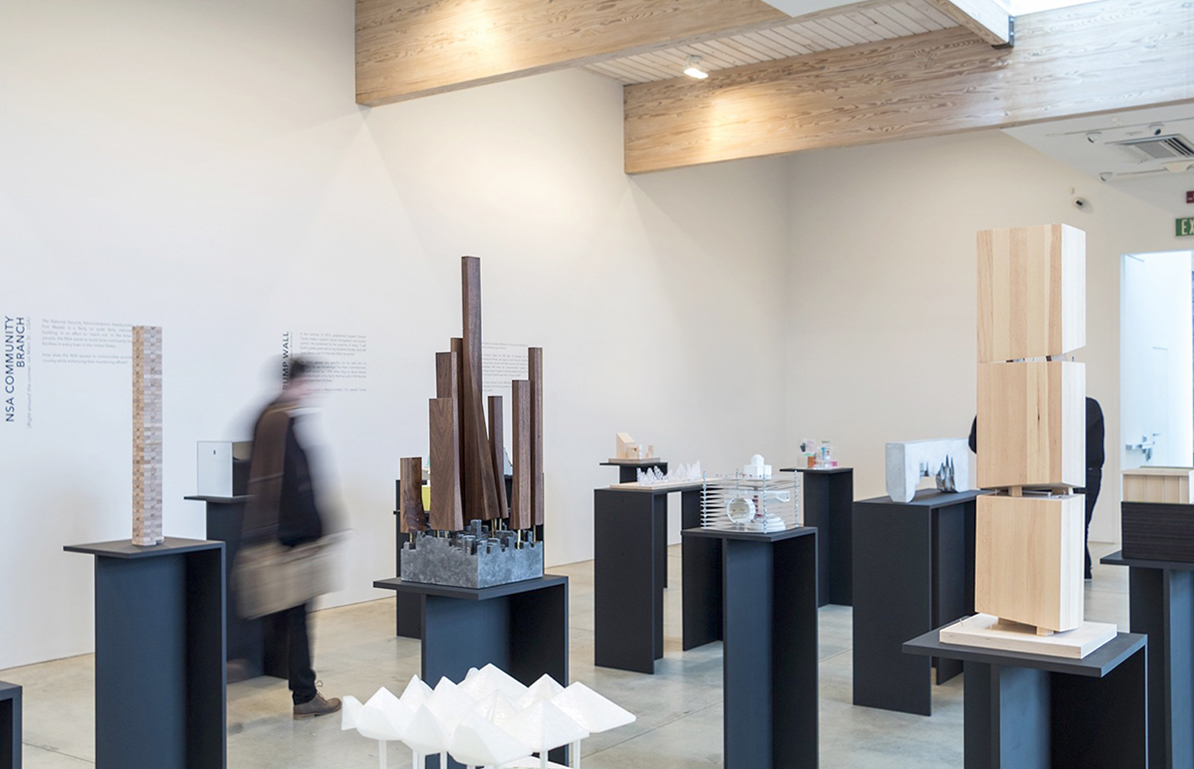 A photo of the Art Omi gallery interior