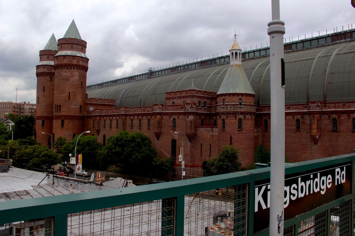 Photo of exterior of Kingsbridge Armory