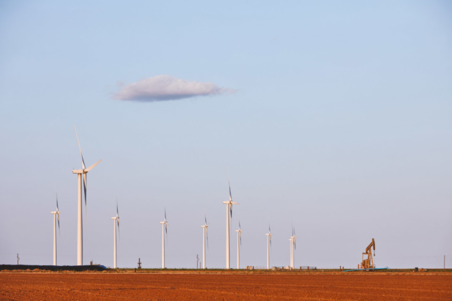 The vast stretches of land in West Texas are perpetually mined of resources.