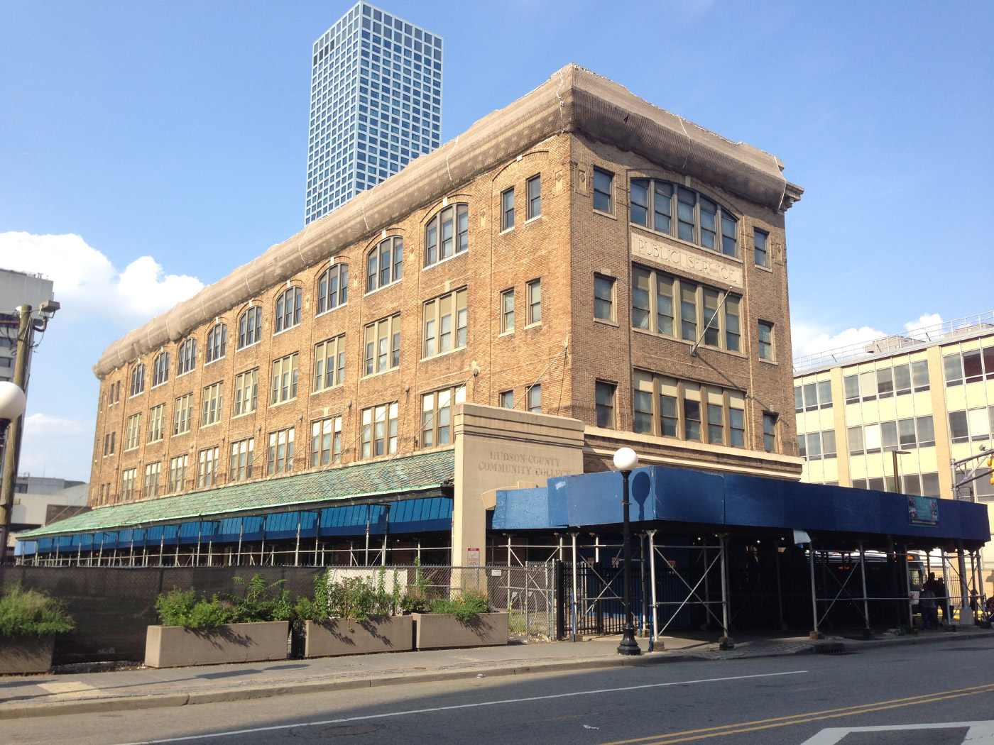 Photo of the Pathside Building in Jersey City, future home of the Jersey City Museum