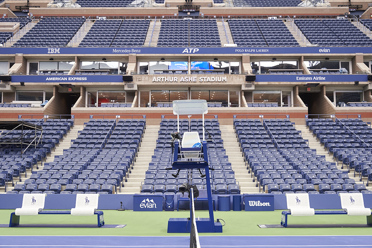 A photo of Arthur Ashe Stadium