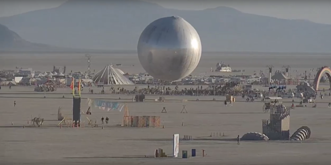 Photo of The ORB at Burning Man