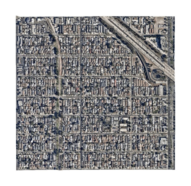 Satellite photo of Census Tract 6040.01, Los Angeles County, California