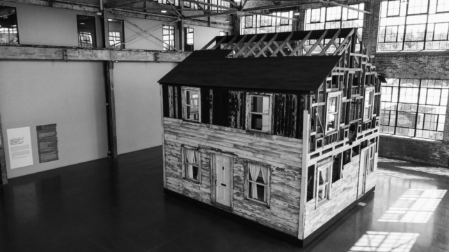 Photo of the reconstructed Rosa Parks house