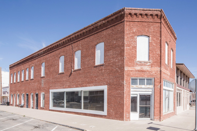 Photo of renovated Judd Foundation building