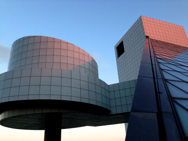 Photo of the Rock and Roll Hall of Fame