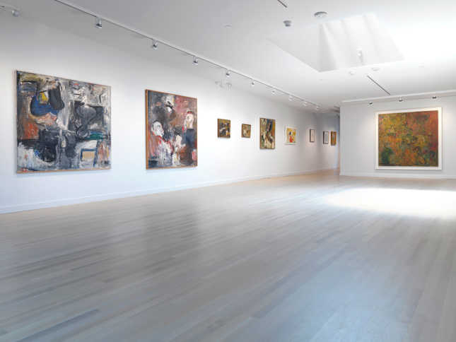 The interior of The Milton Resnick and Pat Passlof Foundation
