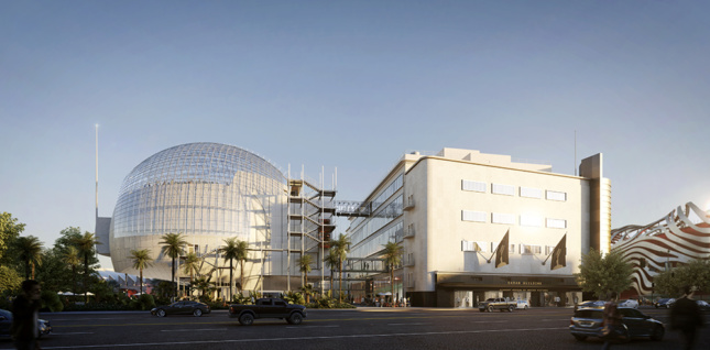Academy Museum of Motion Pictures by Renzo Piano Building Workshop