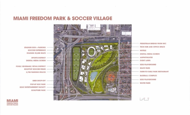 Site plan of the Melreese development.