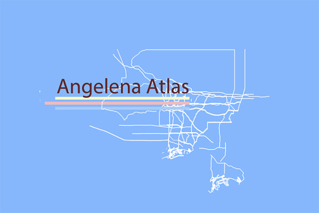 A graphic from the work in progress Angelena Atlas