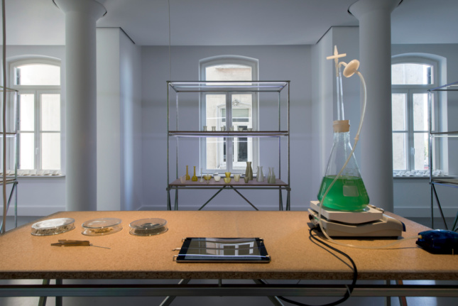 Blooming Algae by Atelier Luma Algae Lab