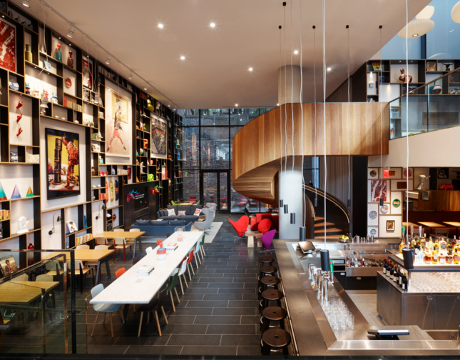 citizenM's new Lower East Side hotel in New York City