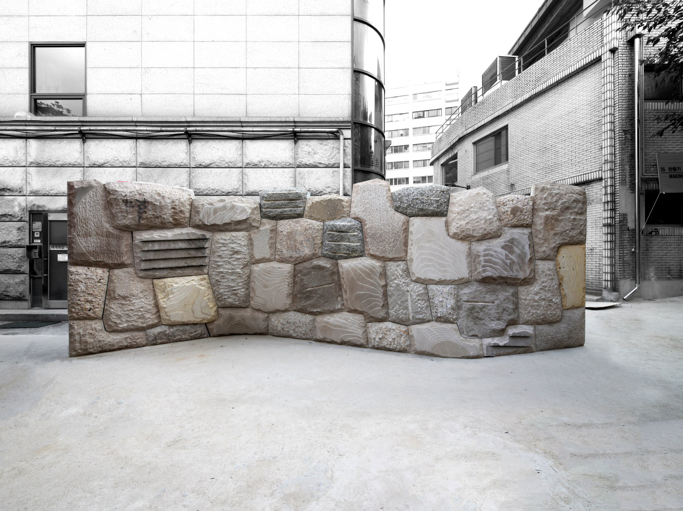 Installation view of Cyclopean Cannibalism in Seoul.