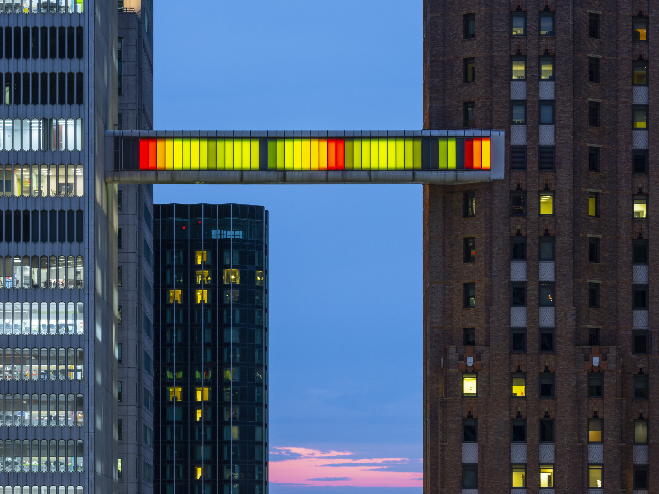 Phillip K. Smith III's Detroit Skybridge