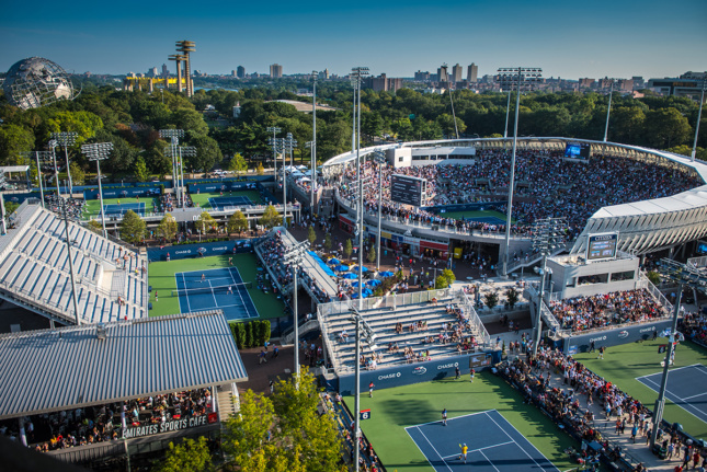 The Grandstand at the USTA Billie Jean King National Tennis Center