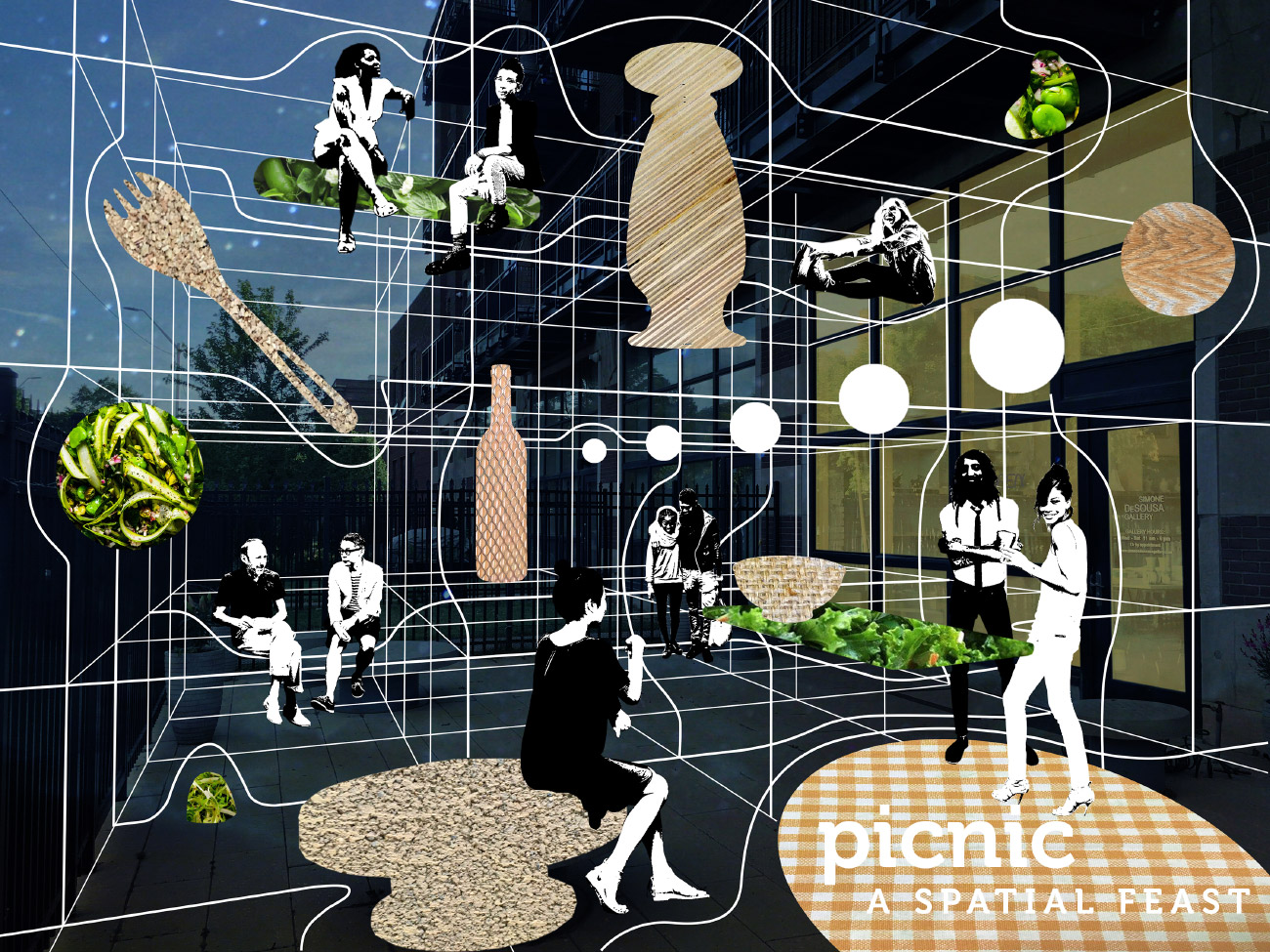 Graphic for Picnic curated by Detroit's Campo Studio