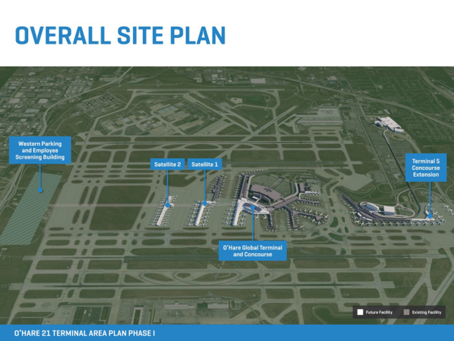 Site Plan for O'Hare 21
