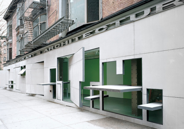 Photo of the Storefront for Art and Architecture