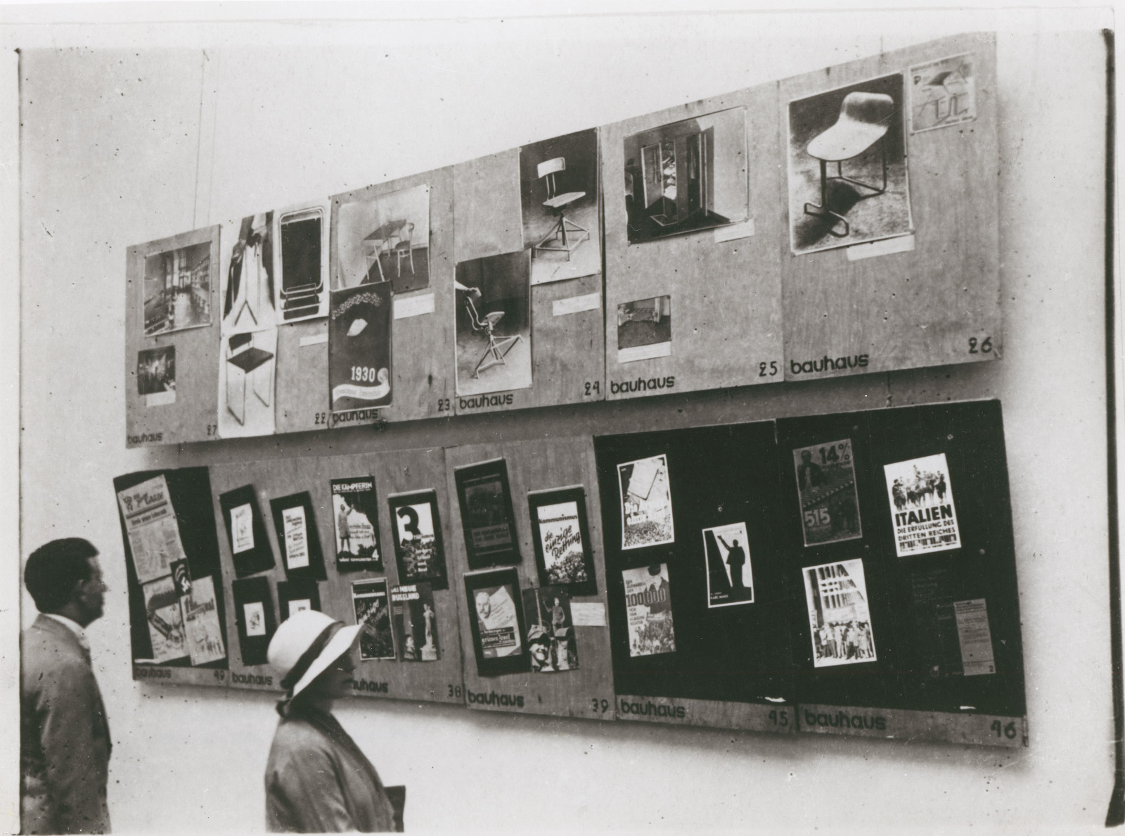 A Bauhaus exhibition in Moscow, 1931