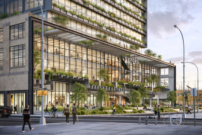 The new St. John's will feature plenty of greenery intermingled among the industrial flourishes.