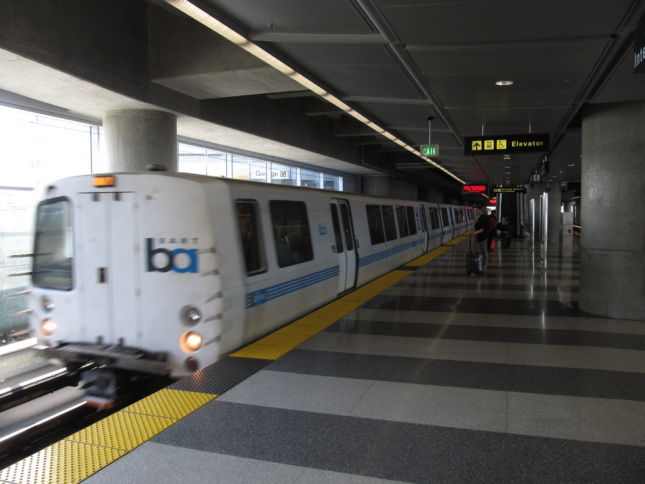 Bart Station, San Francisco International Airport