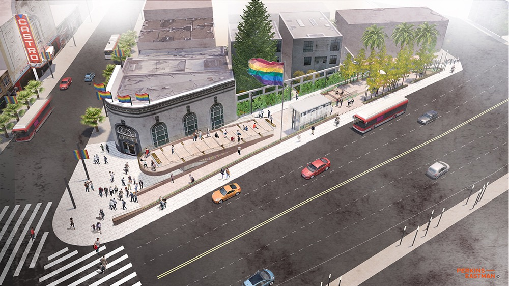 The Proposed Harvey Milk Plaza.