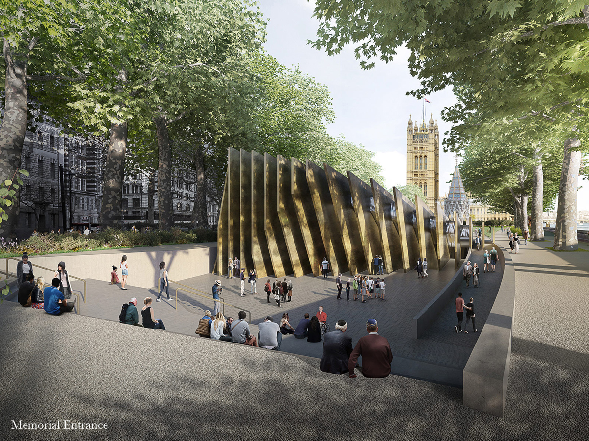 David Adjaye's design for the UK Holocaust Memorial