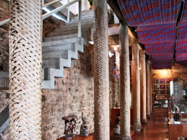 The interior of the Caso do Benin in Salvador, Brazil, designed by Lina Bo Bardi