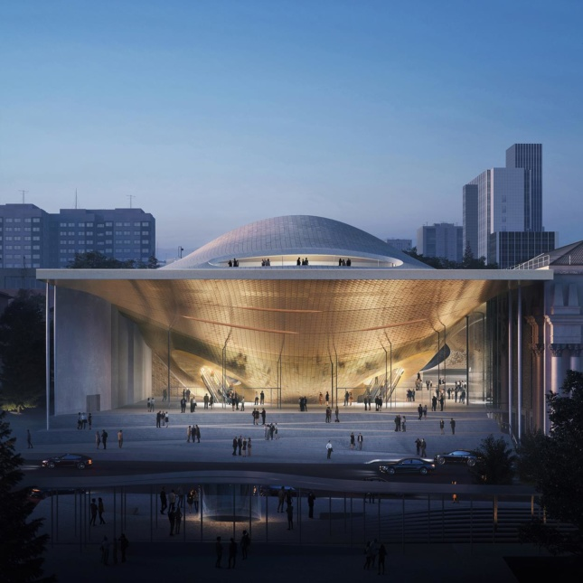 The Philharmonic Concert Hall will be built in the Russian city of Yekaterinburg, Courtesy VA