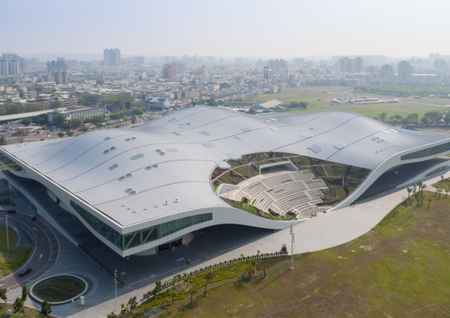 National Kaohsiung Centre for the Arts in Kaohsiung, Taiwan