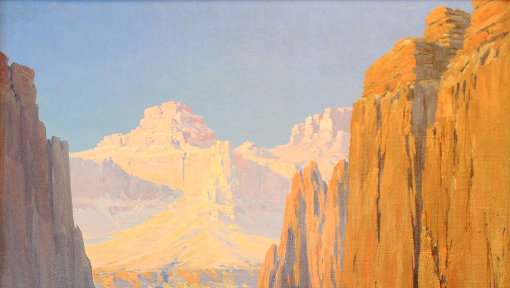 Louis Benton Akin, Colorado River, Grand Canyon