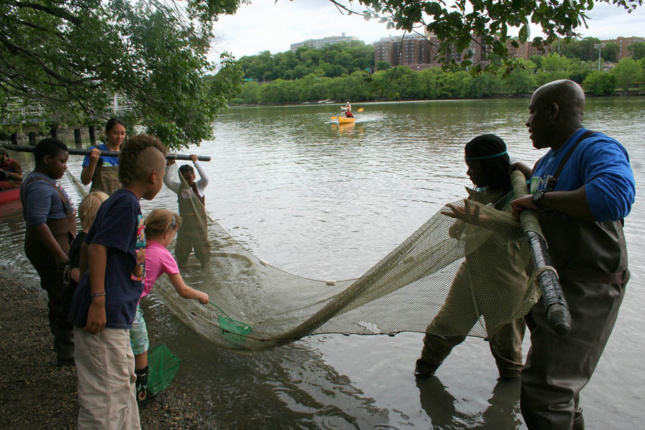 Photo of children at the Sherman Creek Park