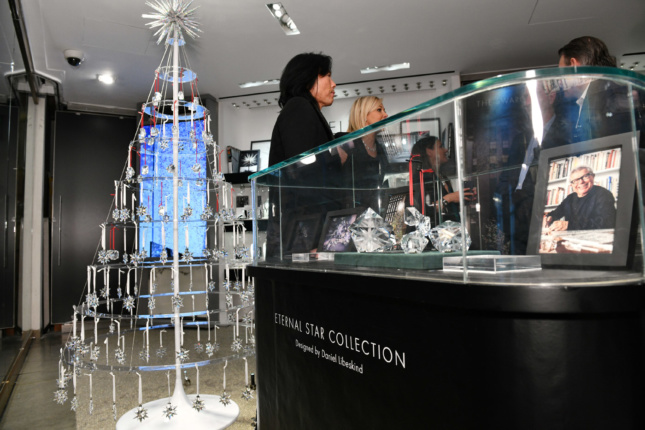 "Libeskind has also designed the ""Eternal Star Collection"" for Atelier Swarovski Home."