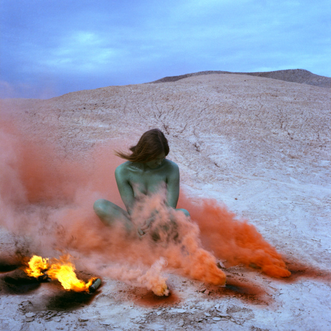 Photo of Atmospheres by Judy Chicago