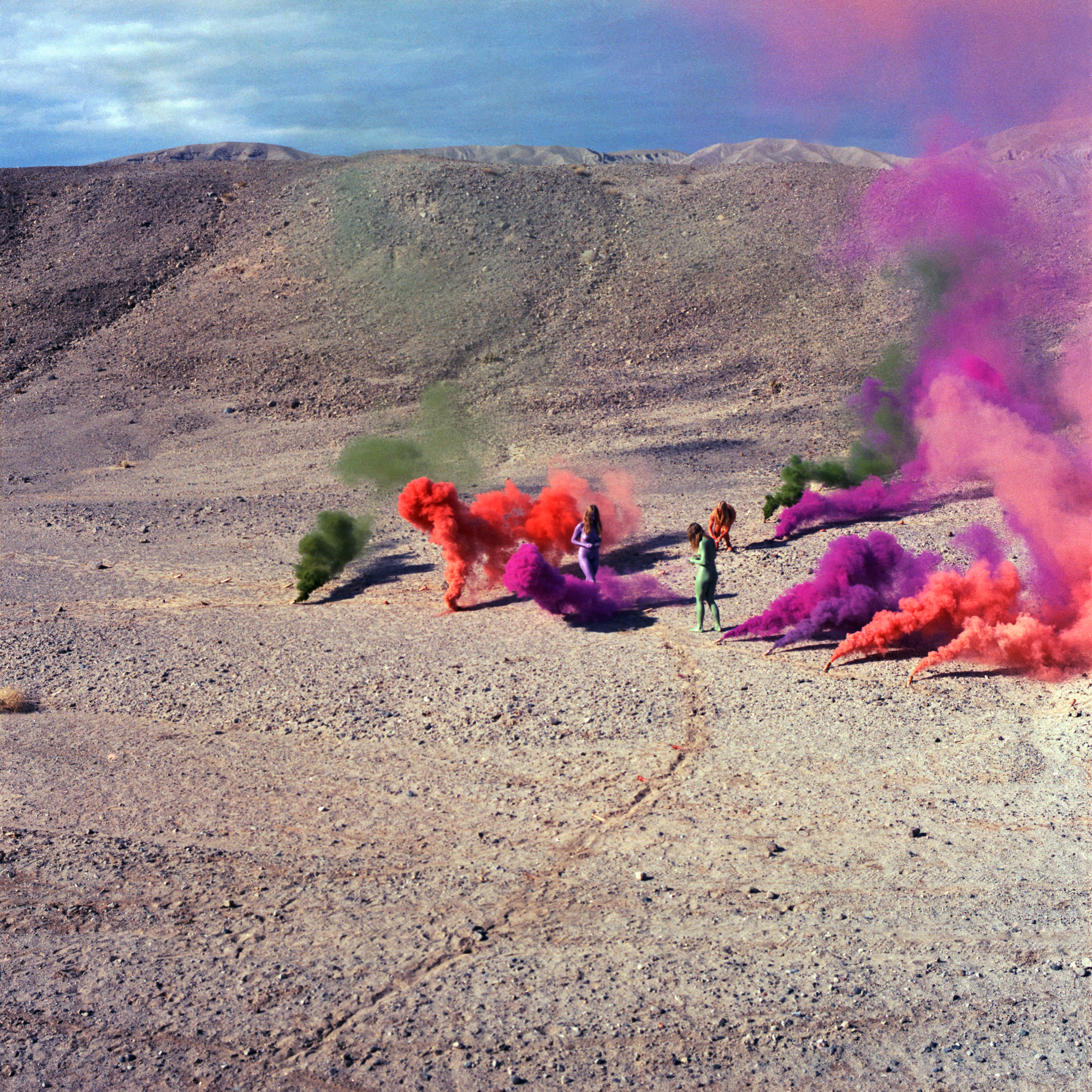 Photo of Smoke Bodies by Judy Chicago