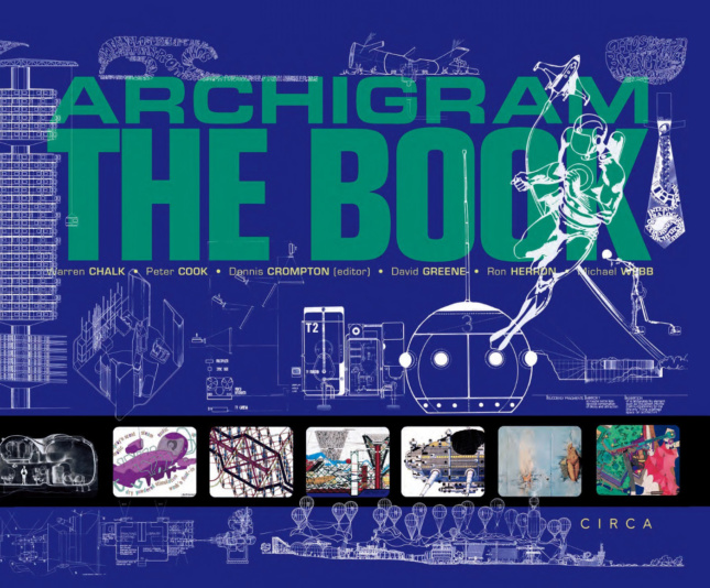 The cover of Archigram - The Book