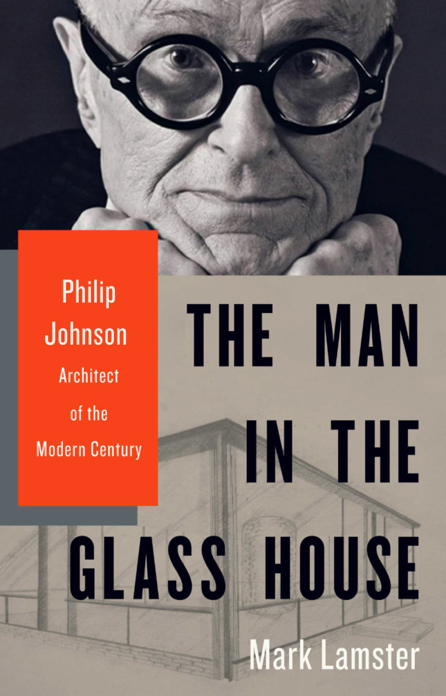 The cover of The Man in the Glass House.