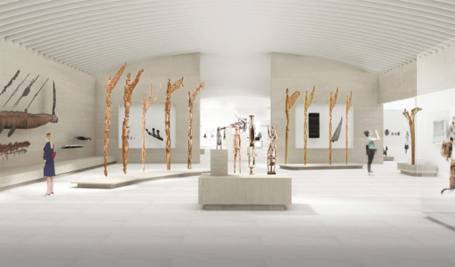 Indigenous art will be put front and center in the new galleries, and organized in a much cleaner manner.